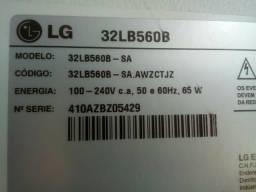 Componentes da TV LG 32 polegadas