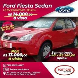 Fiesta Sedan, sem entrada 48x 540 - 2008