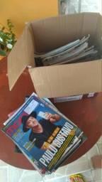 Revistas veja e exame