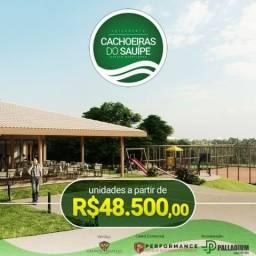 Costa de Sauípe - Cachoeiras do Sauípe, lotes a partir de 1000 m² - 48.500,00