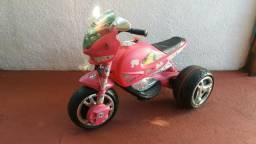 Moto Elétrica Barbie Bandeirante