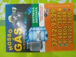 Água e gas