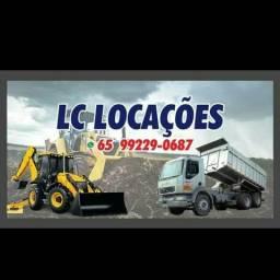 Aluguel de retrô escavadeira caminhão cassamba
