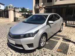 Toyota Corolla com todos os opcionais !!! muito novo !!! - 2016