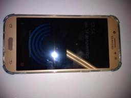 Celular Samsung J5 Pro Dourado - 32GB