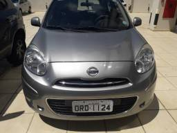 Nissan March 1.0 2014 Cinza - Carro Extra - 2014