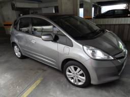 Fit 2014 Automático Com Bancos Em Couro,Carro De Garagem! - 2014