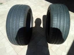 Pneus, par de pneu Pirelli P1 usado 225x50 17