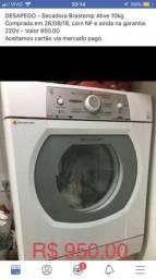 Secadora de roupas Brastemp Ative 10kg 220V