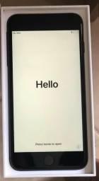 IPhone 8plus 64Gb, novo, preto, completo. Valor R$ 3.650