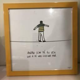 Quadro Gilberto Gil - Andar com fé eu vou!