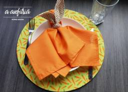 Sousplat de Páscoa - cenoura - Decoração de mesa