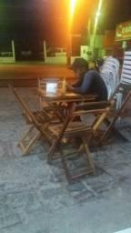 Vendo mesas de madeira 8 mesas