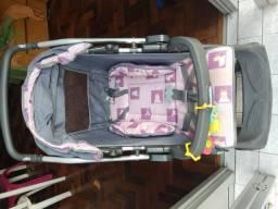 Carrinho de passeio Burigotto Rio Plus Reversível - R$250 (02 anos de uso)
