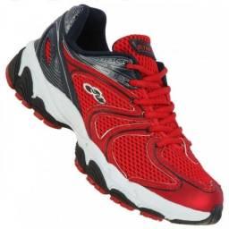 8a74f2c30f1 Tênis Olympikus Cennsor   629 Vermelho Marinho Usado Tamanho 42
