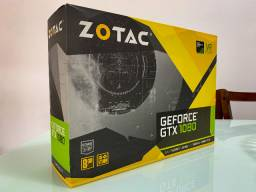 Placa de Vídeo Zotac GeForce GTX 1080 Mini 8GB gddr5x 256-bit. ZT-P10800H-10P (Pouco uso)
