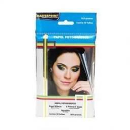 Papel Foto 10x15 - 265gr Masterprint Pacote com 20 Folhas comprar usado  Brasilia