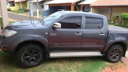 Hilux SRV Cinza 2010 diesel automática - 2010