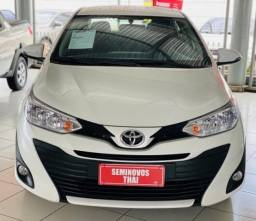 TOYOTA YARIS 1.5 16V FLEX SEDAN XL PLUS TECH MULTIDRIVE. - 2019