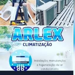 Ar condicionado instalação e higienização