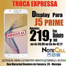 Display Completo / Tela Para Samsung J5 Prime - (sm-g570) Display Qualidade Impecável