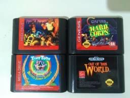 Usado, Fitas de Mega Drive, Jogos Clássicos! comprar usado  Uberlândia