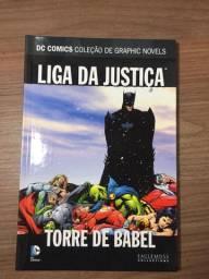 Liga da justiça: Torre de babel hq