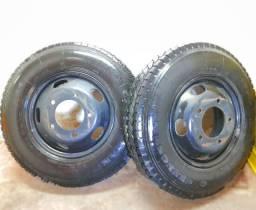 Pneu + Roda Novo 700R16