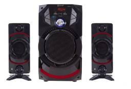 Mini System Bluetooth Áudio 3.1 Entrada Usb 50w Reais