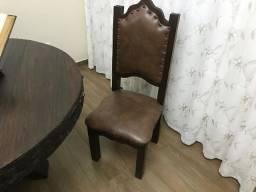 Mesa Cadeiras e Armario Buffet