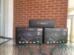 Título do anúncio: Tv Box mxQ Pro 32GB Ram 256GB Ultra HD