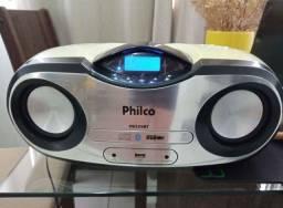 Som portátil Philco com Bluetooth e controle remoto até 12x sem juros nos cartões