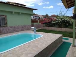 Casa com 03 quartos piscina e churrasqueira, o melhor valor da região próximo da lagoa