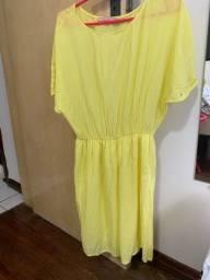 Título do anúncio: Vestido amarelo, bem arrumadinho