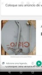 Título do anúncio: Antena banda ku 90 cm