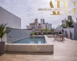 Apartamento à Venda no bairro Balneário em Florianópolis/SC - 2 Suítes, 3 Banheiros, 1 Coz