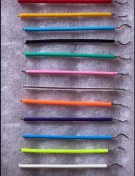 Título do anúncio: Kit 8 varinhas de ligas Vc escolhe as cores