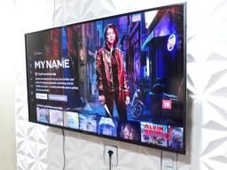 Título do anúncio: Tv smart 50 polegadas  4k, Panasonic controle original pezinho aceito pix faço entrega