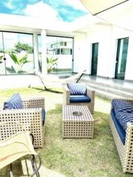 Casa em Carapibuis com 4 quartos, academia e piscina. Pronto para morar