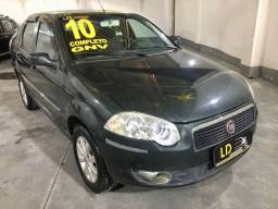 Título do anúncio: Fiat Siena Elx 1.4 - 2010 Gnv/ Flex /Completo - Ipva ok