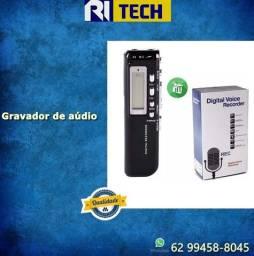 Título do anúncio: Gravador De Voz Lcd Mp3 Player Digital Voice Recorder