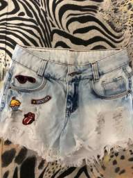 Shorts P tamanho 14