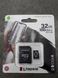 Cartão De Memória Kingston 32gb Canvas Select Plus Micro/sd