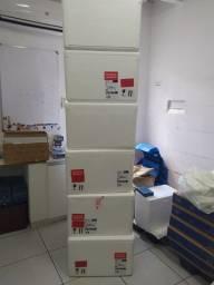 Vendo caixa de isopor 80 litros  7 unidades