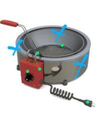 Resistência de fritadeira elétrica 7 litros