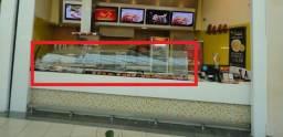Protetor Salivar, Vidro Curvo - Para Restaurantes Self Services, Lanchonetes ...