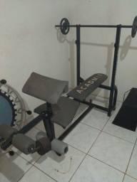 Título do anúncio: Mesa de musculação