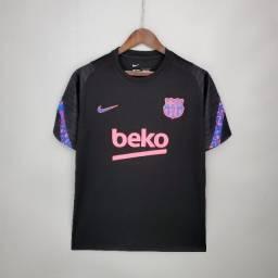 Título do anúncio: Camisa Barcelona 2021/2022 - Treino/Viagem