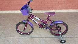 Bicicleta aro 16 novinha