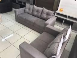 Oferta**Conjunto Sofa Animalle 2 e 3 Lugares, Novo!!